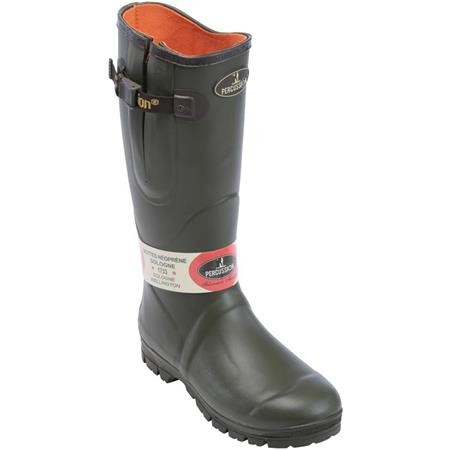 HERRENSTIEFEL PERCUSSION SOLOGNE NEOPRENE - KAKI