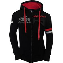 HOODIE HOT SPOT DESIGN ADRENALINE BLACK
