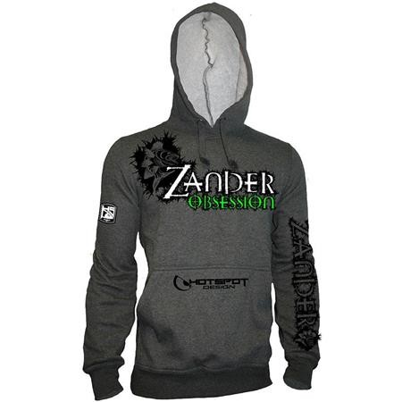 HOODIE HOT SPOT DESIGN ZANDER OBSESSION - GREY