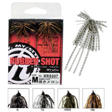 HOOK JIG RYUGI RUBBER SHOT - PACK OF 2