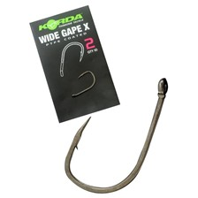 HOOK KORDA WIDE GAPE X - PACK OF 10