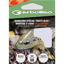 HOOK TO NYLON GARBOLINO SPECIAL BLUE TROUT - PACK OF 10