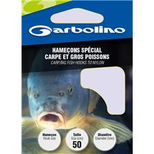 HOOK TO NYLON GARBOLINO SPECIAL CARP AND BIG FISHES