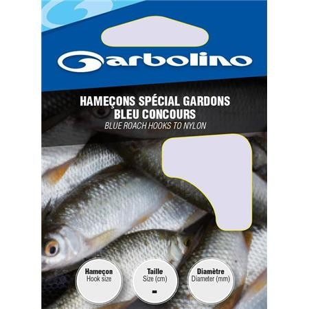 HOOK TO NYLON GARBOLINO SPECIAL COMPETITION BLUE ROACHES