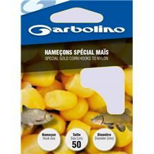 HOOK TO NYLON GARBOLINO SPECIAL CORN - PACK OF 10