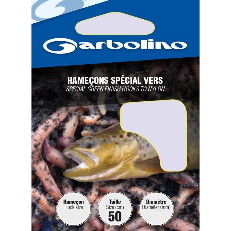 HOOK TO NYLON GARBOLINO SPECIAL VERS - PACK OF 10 - N°10