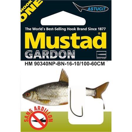 HOOK TO NYLON MUSTAD HM 90340NP-BN ROACH