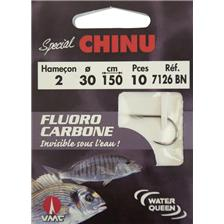 HOOK TO NYLON WATER QUEEN 7126 BN SPECIAL CHINU - PACK OF 10