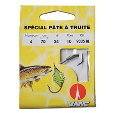 HOOK TO NYLON WATER QUEEN SPECIAL TROUT PASTE - PACK OF 10