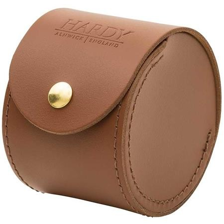 HOUSSE MOULINET HARDY LEATHER REEL CASES