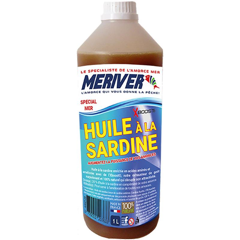 HUILE A LA SARDINE MERIVER XBOOST - 1L - AR00128