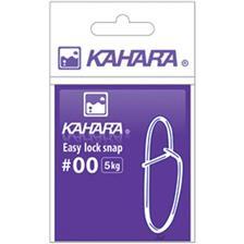 IMPERDIBLE KAHARA EASY LOCK SNAP - PAQUETE DE 10