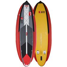INFLATABLE BOARD SEVEN BASS MUTANT 11' GREY YELLOW