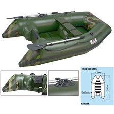 INFLATABLE BOAT FISH COMPACT P240SF PLASTIMO FISH COMPACTE P240SF