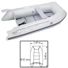 INFLATABLE BOAT PLASTIMO TRAIL P240KH