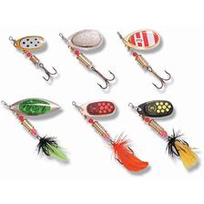 INLINE SPOON ZEBCO PIKE/PERCH - PACK OF 6