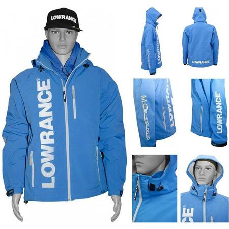 JACKET SOFTSHELL MAN LOWRANCE - ROYAL BLUE