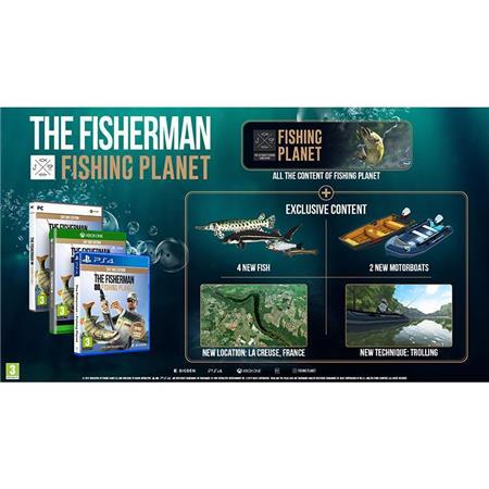 JEU VIDEO BIGBEN THE FISHERMAN - FISHING PLANET