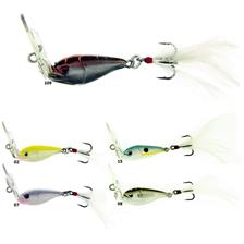 LOVER SPECIAL VIBRATION TREBLE HOOK 14G WHITE CHARTREUSE