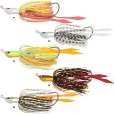 Lures Volkien HURRICANE CLUSTER 7G TEXAS BLACK RED
