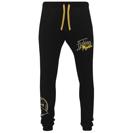 JOGGING HOMME HOT SPOT DESIGN FISHING MANIA - JAUNE