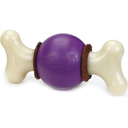 JOUET 3 EN 1 CHIEN BUSY BUDDY BOUNCY BONE