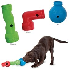 JOUET DISTRIBUTEUR FRIANDISE CHIEN BUSY BUDDY LINKABLES