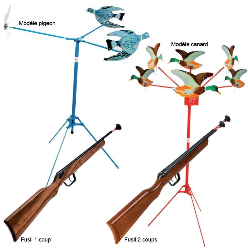 Juego para niño - tiro a la paloma o pato januel