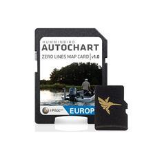 KAART EUROPA HUMMINBIRD ZERO LINE VOOR SOFTWARE AUTOCHART