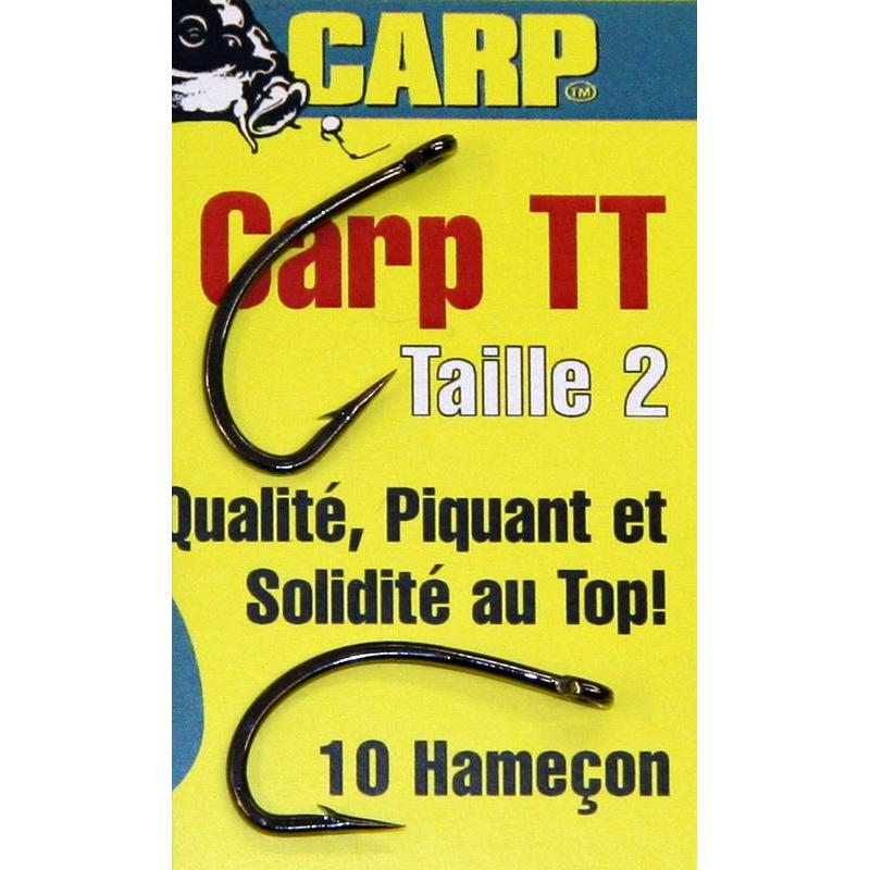 KARPFENHAKEN BIG CARP TT - 10ER PACK -    N°4