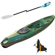 Crafts Bic Sport JAVA FISHING KAYAK JAVA FISHING + 1 DOSSERET FISH + 1 PAGAIE SWING ALU 2.2M
