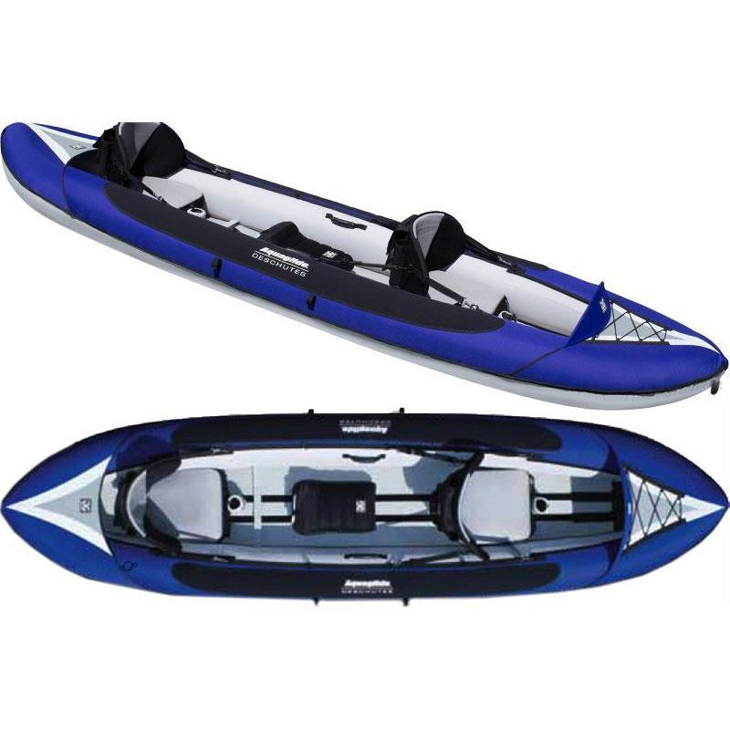 kayak gonflable aquaglide deschutes tandem. Black Bedroom Furniture Sets. Home Design Ideas