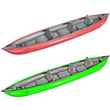 KAYAK GONFLABLE GUMOTEX SOLAR 410 - 3 PLACES