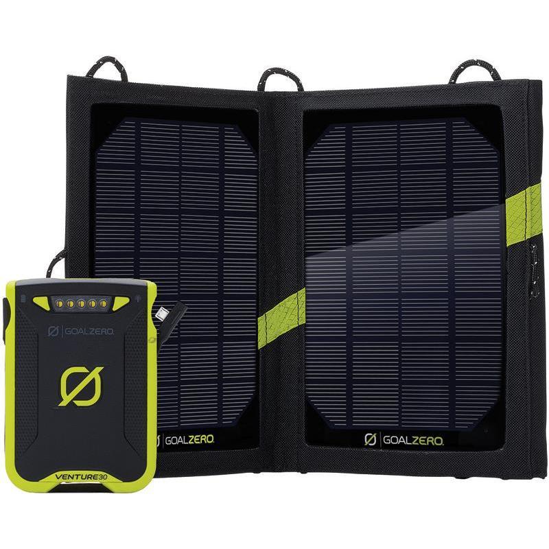 Kit Pannello Solare Zero : Kit batteria pannello solare goal zero venture