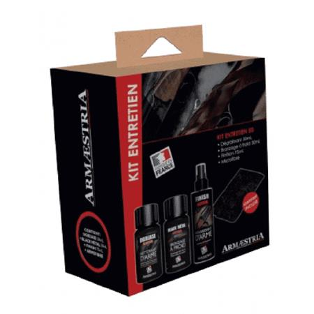KIT ENTRETIEN ARMENET 250 DGREASE + BLACK METAL + FINISH
