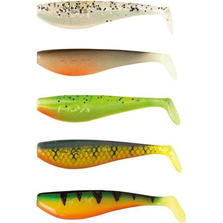 KIT ESCHE FLESSIBILI FOX RAGE ZANDER PRO MIXED SHADS - 7.5CM