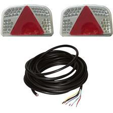 KIT FEUX ETANCHES A LED PROFIL NATURE 7 FONCTIONS