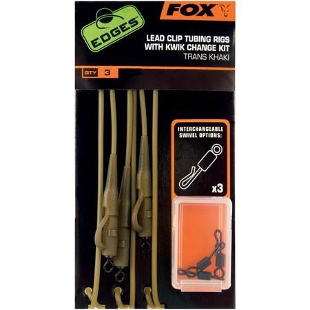 KIT FOX EDGES LEAD CLIP RIGS