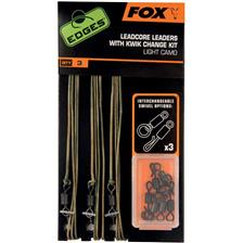KIT FOX LEADCORE LEADERS CON CLIP