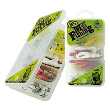 KIT LEURRES SOUPLES DELALANDE MACADAM FISHING