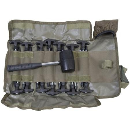 KIT SARDINE AVID CARP SUPERTOUGH BIVVY PEG & MALLET SET