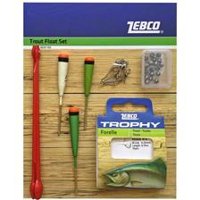 KIT TRUITE ZEBCO FLOAT SET