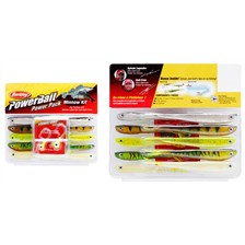KIT VINILO BERKLEY MINNOW PRO PACK