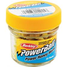 KÖDER BERKLEY POWERBAIT HONEY WORM - 55ER PACK