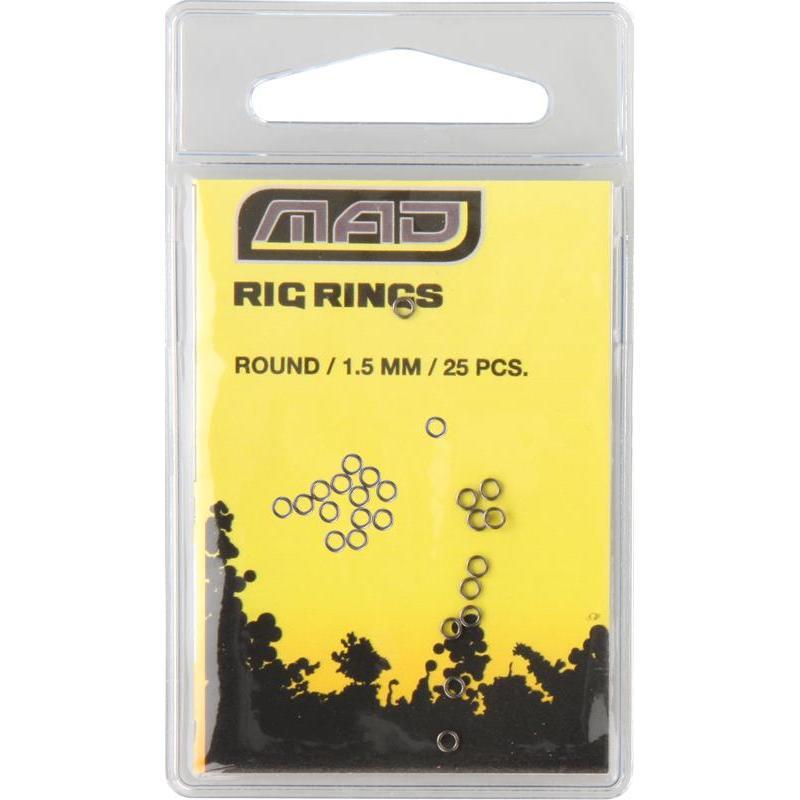 KÖDERRINGE MAD RIG RINGS ROUND - 1.5mm