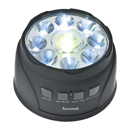 LAMPE DE BIVVY ANACONDA POUR DETECTEUR TIKI TAKA RADIO LINK DEVICE TENT LAMP