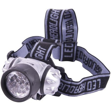 LAMPE FRONTALE TORTUE - 14 LEDS