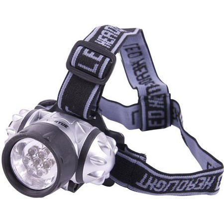 LAMPE FRONTALE TORTUE - 7 LEDS