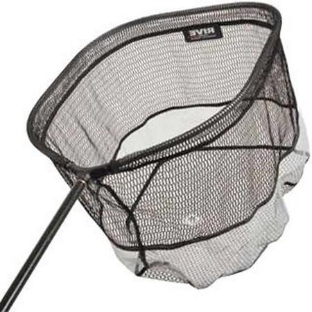 Landing net head rive big fish rubber mesh for Big fishing net