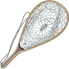 LANDING NET RACKET FLY TOF NET TRANSPARENT RUBBER